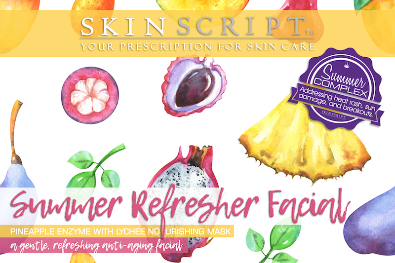 Pineapple Lychee Facial at Firefly Wellness Day Spa
