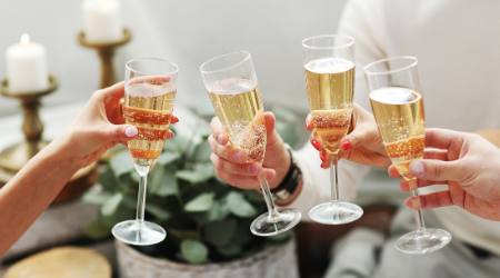 Peels & Prosecco event at Firefly Wellness Day Spa