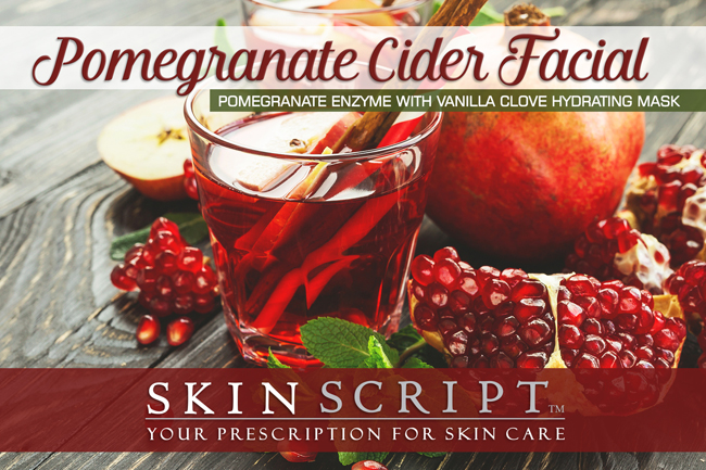 Pomegranate Cider Facial from Firefly