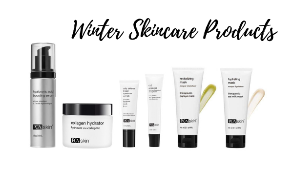 Winter Skincare Products from PCA Skin